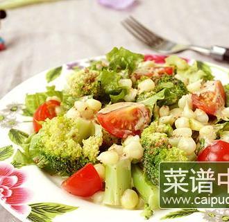 焙煎芝麻蔬菜沙拉