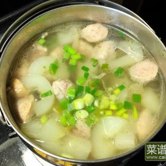 大黄瓜丸子汤