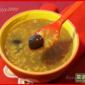 红豆红枣粥