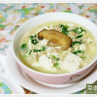 豆腐青菜羹