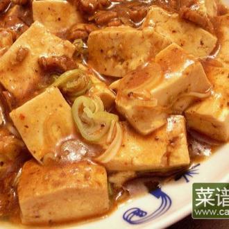 素食版麻婆豆腐