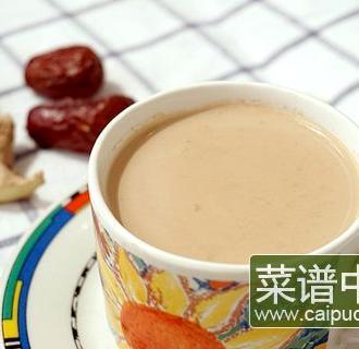 夏日姜奶茶