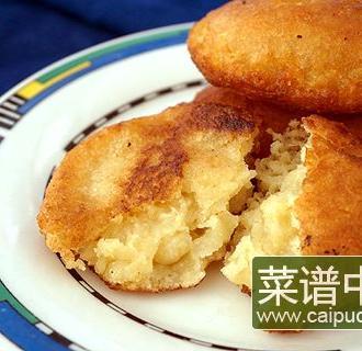 煎糯玉米饼