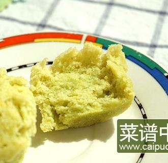 青豆糯玉米蒸发糕