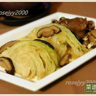 卤水包菜(高丽菜)