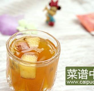 百香果苹果红茶