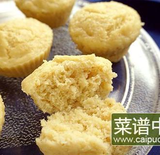 酵母版糯玉米蒸发糕