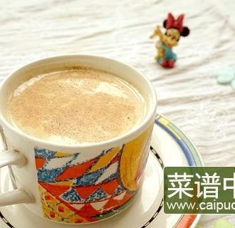 肉桂苹果奶茶