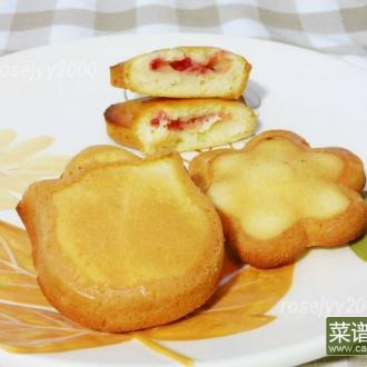 草莓小蛋饼