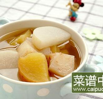 水果萝卜清汤