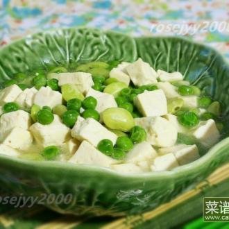 碧翠豆腐羹