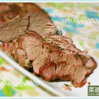 香草烤猪腰肉Tenderloin