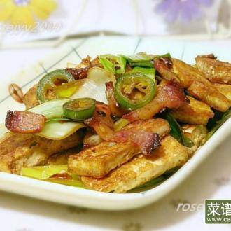 咸肉烧豆腐