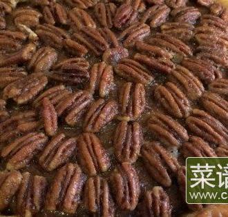 山核桃南瓜饼