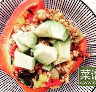 素食酿胡椒
