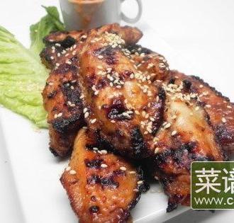 亚洲烤鸡翅