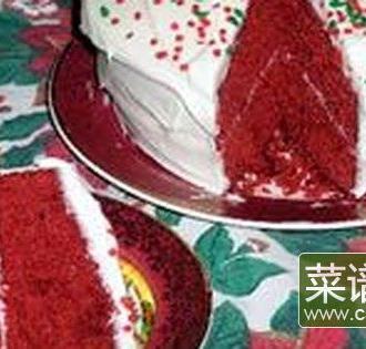 红色天鹅绒蛋糕