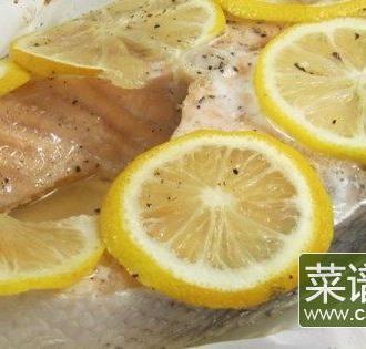 羊皮纸烤鲑鱼