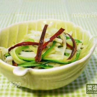 清炒土豆小瓜丝