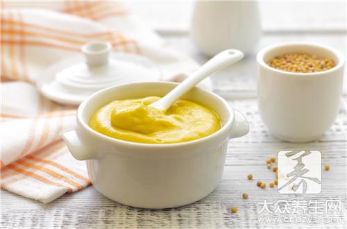 黄芥末酱什么味道