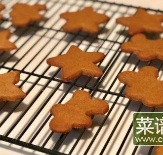 素食姜饼曲奇饼