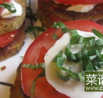 西红柿茄片夹
