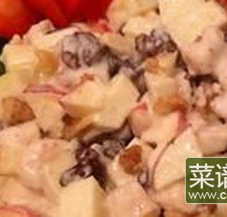 葡萄干水果沙拉