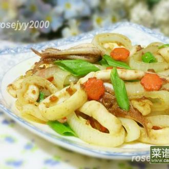 咖喱鱿鱼洋葱圈