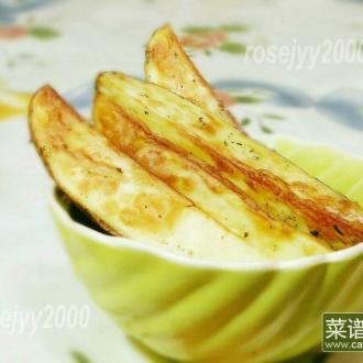空气炸锅烤香草土豆条