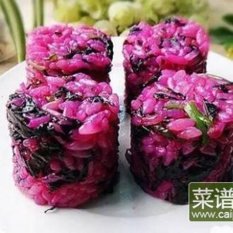 紫苋菜蒜蓉炒饭