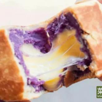 紫薯乳酪网红仙豆糕