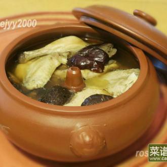 汽锅炖鸡汤