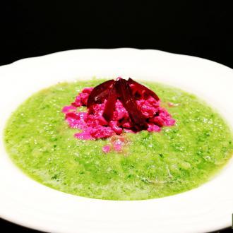 桃红柳绿汤