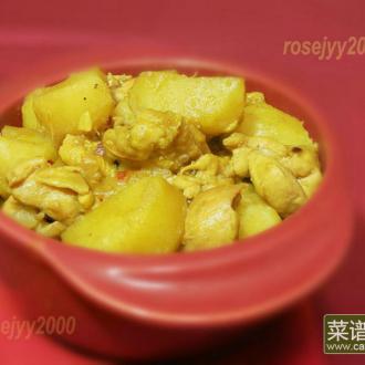咖喱土豆炖鸡腿