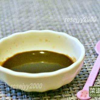 自制炒肉酱汁