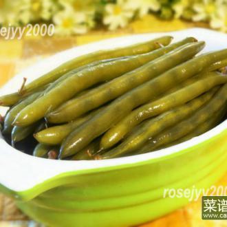 腌咸四季豆