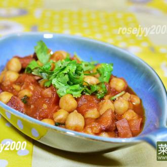 茄汁鹰咀豆