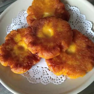 香煎红苕饼