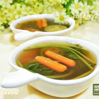 苹果蔬菜汤