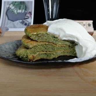 抹茶舒芙蕾松饼