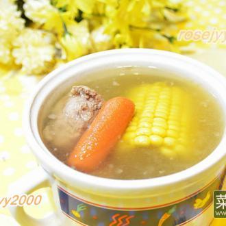 猪骨苹果玉米汤