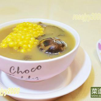 猪骨海苔玉米汤