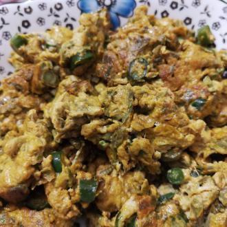 香椿菜炒蛋