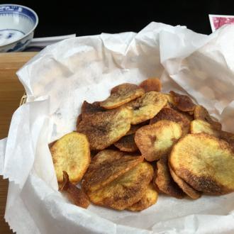家常炸薯片