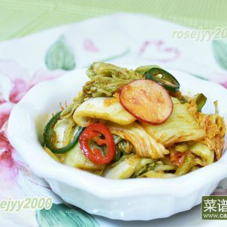 家庭韩式泡菜