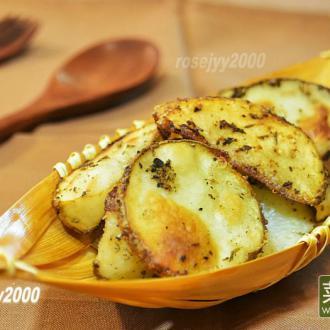 香草烤土豆