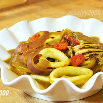 咖喱章鱼圈