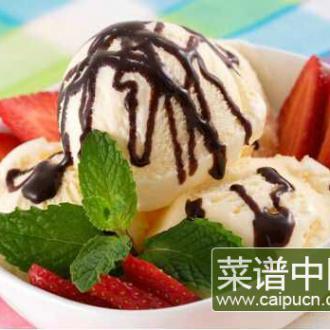 冷饮做法大全 自制美味清凉的冰淇淋