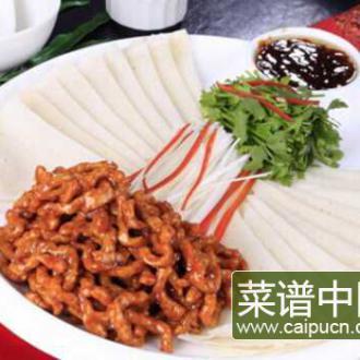 京酱肉丝的做法 一道菜两样吃法