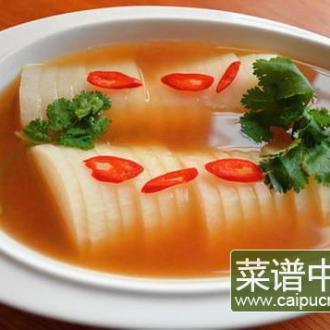 汤蒸萝卜的做法_汤蒸萝卜怎么吃